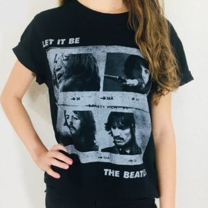 The Beatles Let It Be Graphic Tee